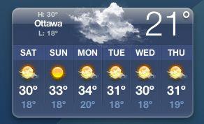 [Ottawa weather July 2006]